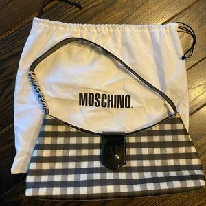Moschino Black/white shoulder bag - barely used